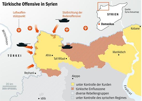 Syrien Karte Aktuell 2018.Sozialismus Operation Olivenzweig